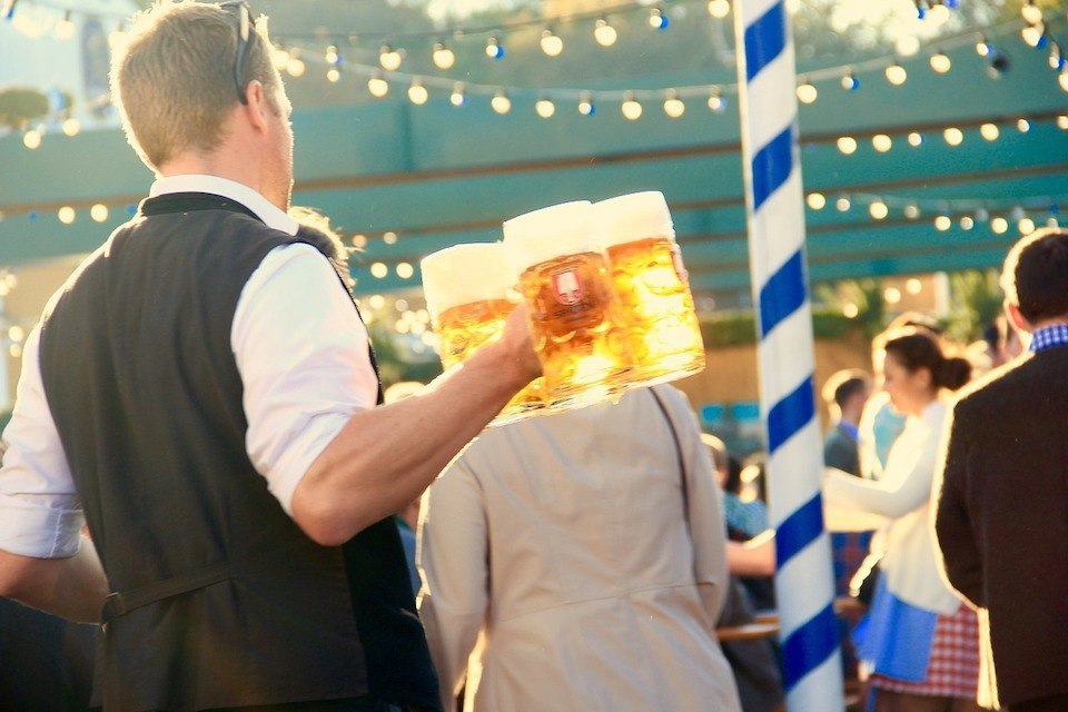 Duitse traditie Oktoberfest