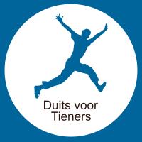 Icoon Duitse Les Voor Nederlandstalige Tieners